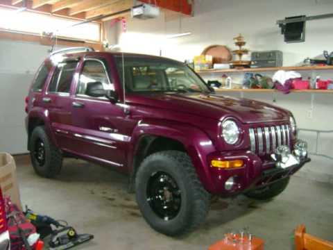 jeep liberty lift kit - YouTube