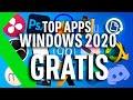 TOP APPS WINDOWS 2020 GRATIS: Los 17 MEJORES PROGRAMAS para tu PC