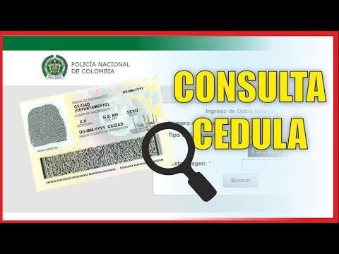 Consultar Cédula  De Colombia