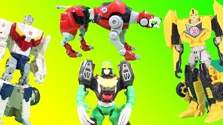 Bumblebee & Transformers Super Hero Tryouts Round 2 Justice League Power Rangers