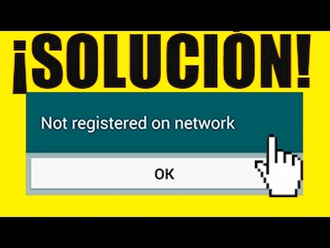 !!!!SOLUCIÓN!!!! No Registrado en la Red S6 Edge