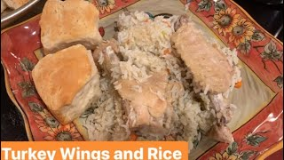 How to Make: Turkey Wings and Rice Bake