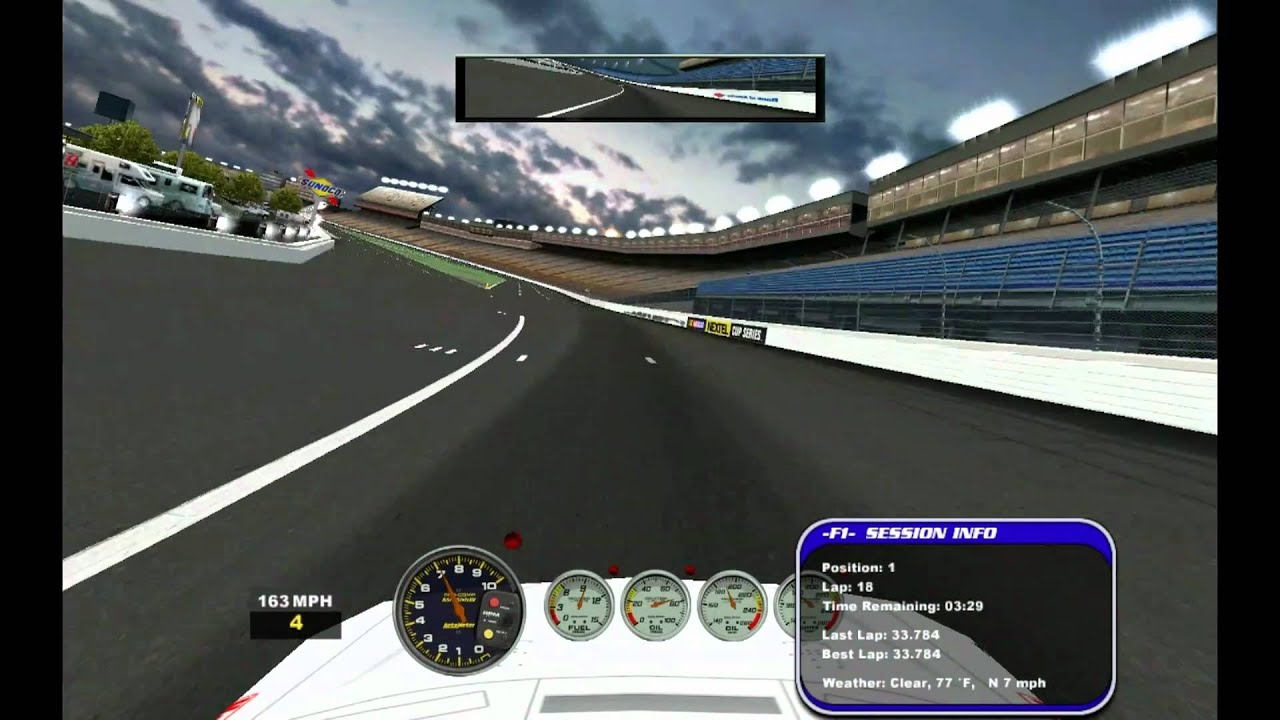 NASCAR Racing 2003 / 2007 Gameplay Clips - Pt. 2 - PC - HD - YouTube