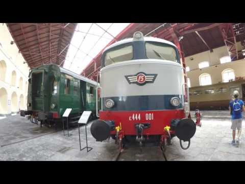 Railway museum in Pietrarsa near Naples Italy Part 1