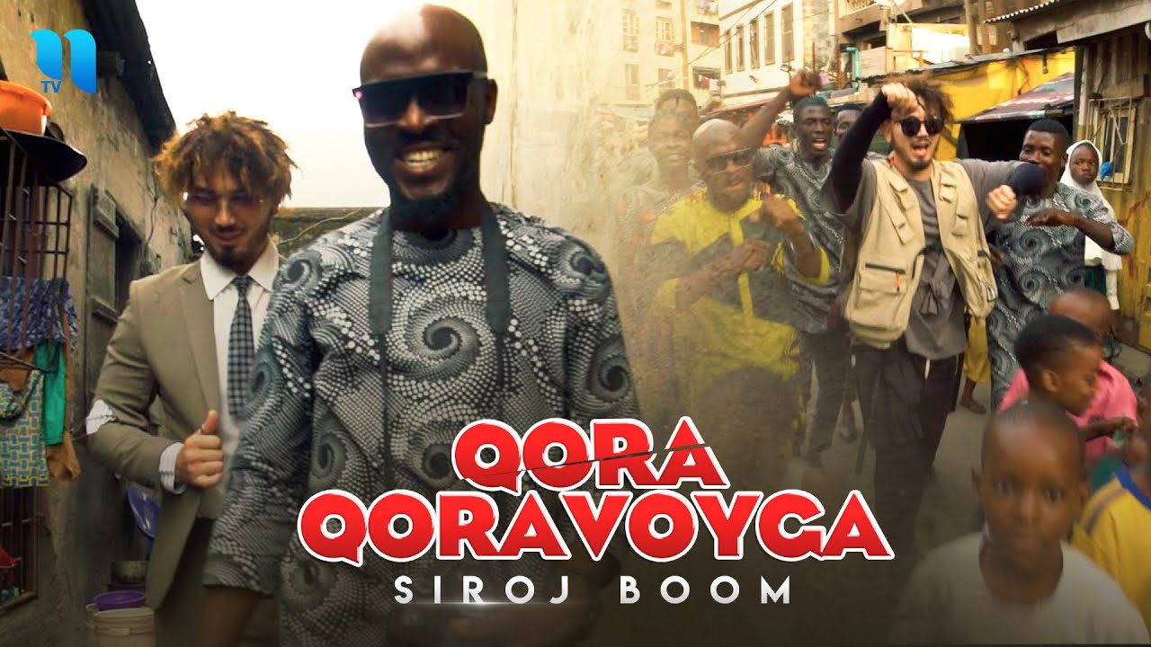 Siroj Boom - Qora qoravoyga (Official Music Video)