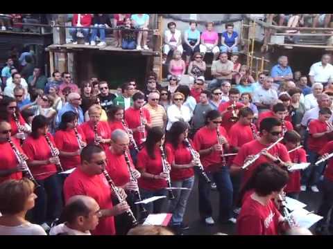 Pasodoble MANOLETE. Sociedad Musical Ayorense [Ayora (Valencia) 16-8-2009 D].