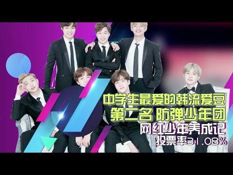 【防弹少年团】20170122 2016年终总结谁是韩流人气王 之BTS 最音乐CUT