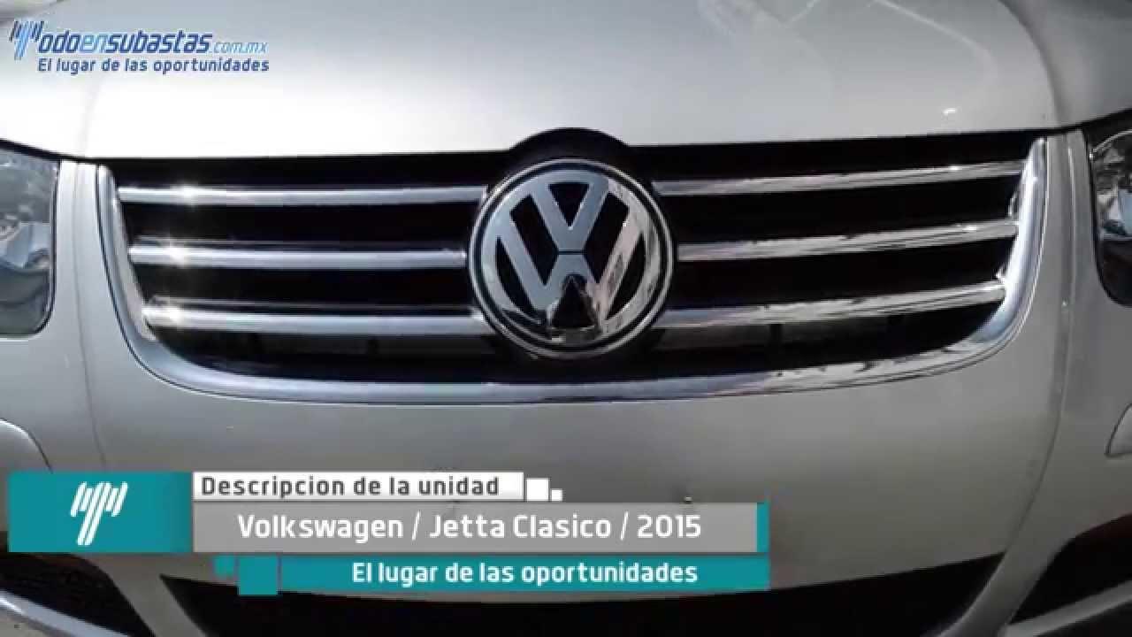 volkswagen jetta clasico 2016 estandar