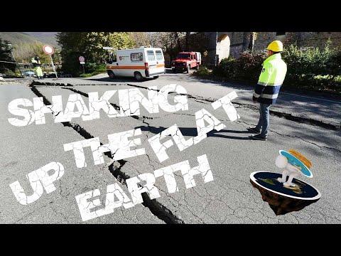 Do Earthquakes (dis)prove Flat Earth?