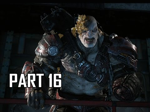 Gears of War 4 Walkthrough Part 16 - Storm Warning (Let's Play Gameplay Commentary)
