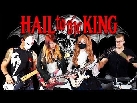 AVENGED SEVENFOLD  Hail To The King  INSTRUMENTAL 4K   Jassy J, BaSaster, DeSade & Kri