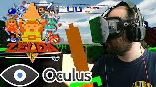 Repeat youtube video Oculus Rift DK1 - Zelda VR Beta - complete playthrough