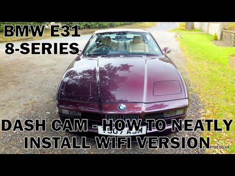 BMW E31 Dash Cam Fitting with Remote Control - Timms BMW Repairs and Information