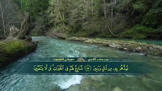 Raad Mohammad Kurdi Surah Al-Mu'minun ترتيل جميل للقارئ رعد محمد الکردي   سورة المؤمنون كاملة HD 10