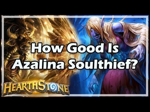 [Hearthstone] How Good Is Azalina Soulthief?