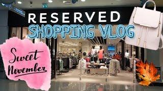 БЮДЖЕТНЫЙ ШОПИНГ RESERVED тренды 2019 что купить на осень SHOPPING VLOG clothing haul