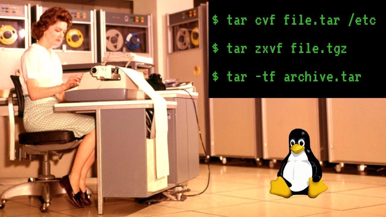 Linux tar Command Tutorial with Examples:  tar,  tar gz,  tgz