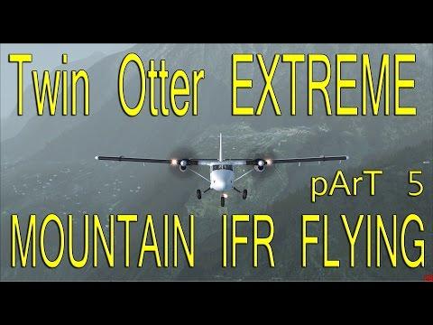 Aerosoft Twin Otter IFR Lukla to Kathmandu part 5