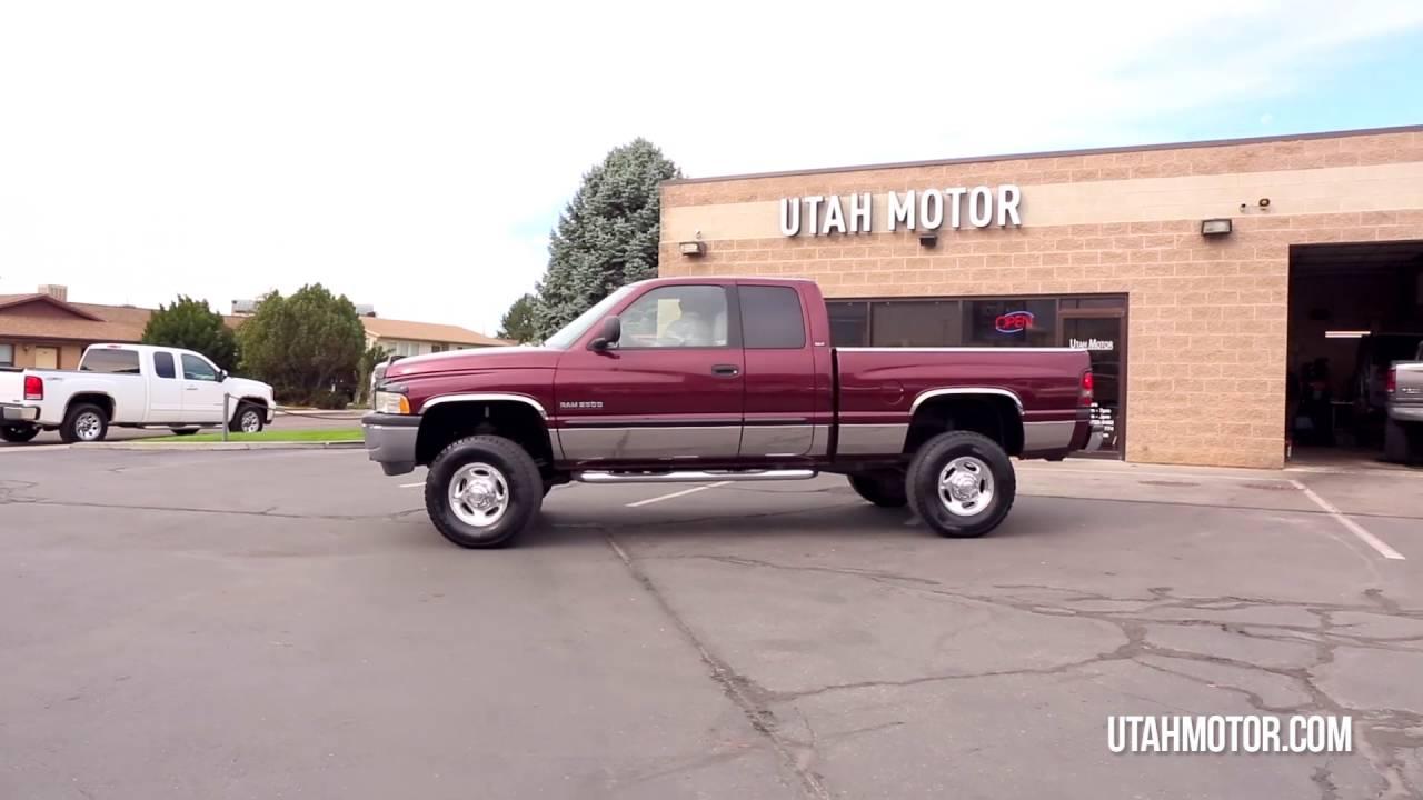 2001 Dodge Ram 2500 SLT 5.9L Cummins 2nd Gen Clean - Utah ...