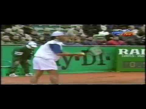Highlights Marcelo Ríos vs  Wayne Ferreira Hamburgo 1996