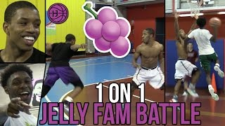 Jelly Fam 1 on 1s 🍇 Isaiah Washington, Jordan Walker, Pedro Marquez, and Markquis Nowell