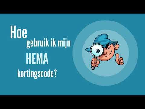 Hoe gebruik je een Hema kortingscode
