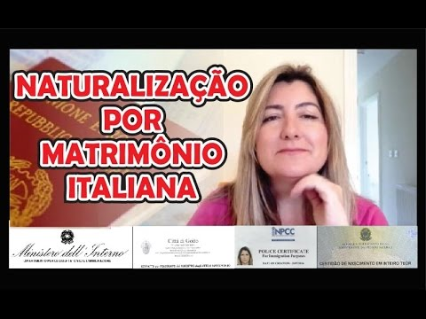 Naturalizacao Italiana por Matrimonio (feita no UK - set 2016)