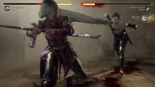 Mortal Kombat 11 Kitana vs Sindel