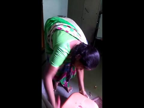 Maid sweeping thumbnail