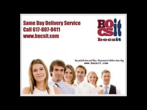 Boston Same Day Delivery Service Bocsit