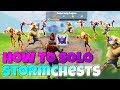 How to SOLO Storm Chests ALL LEVELS!   Fornite Save The World