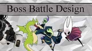 [Design Deliberation] Boss Fight Design