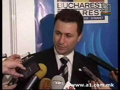 Nikola Gruevski posle grckoto veto