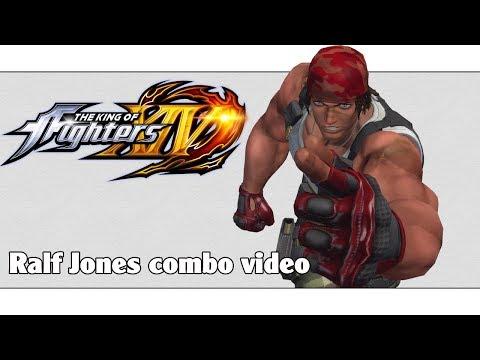 KoF XIV: Ralf Jones combo video (ver. 2.01)