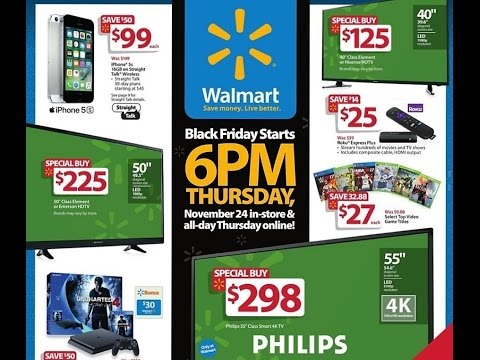 Walmart Black Friday 2016!