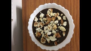 Vegan Coffee Banana Chocolate Ice-cream