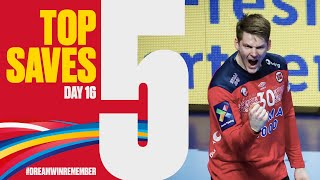Top 5 Saves | Day 16 | Men's EHF EURO 2020