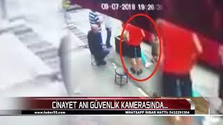 SAMSUN'DA PARK YERİ CİNAYETİ BÖYLE İŞLENDİ...