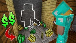Minecraft VEGAS CHALLENGE! (Minecraft BED WARS Trolling)