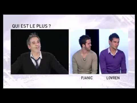 Jeu OL TV entre Pjanic et Lovren