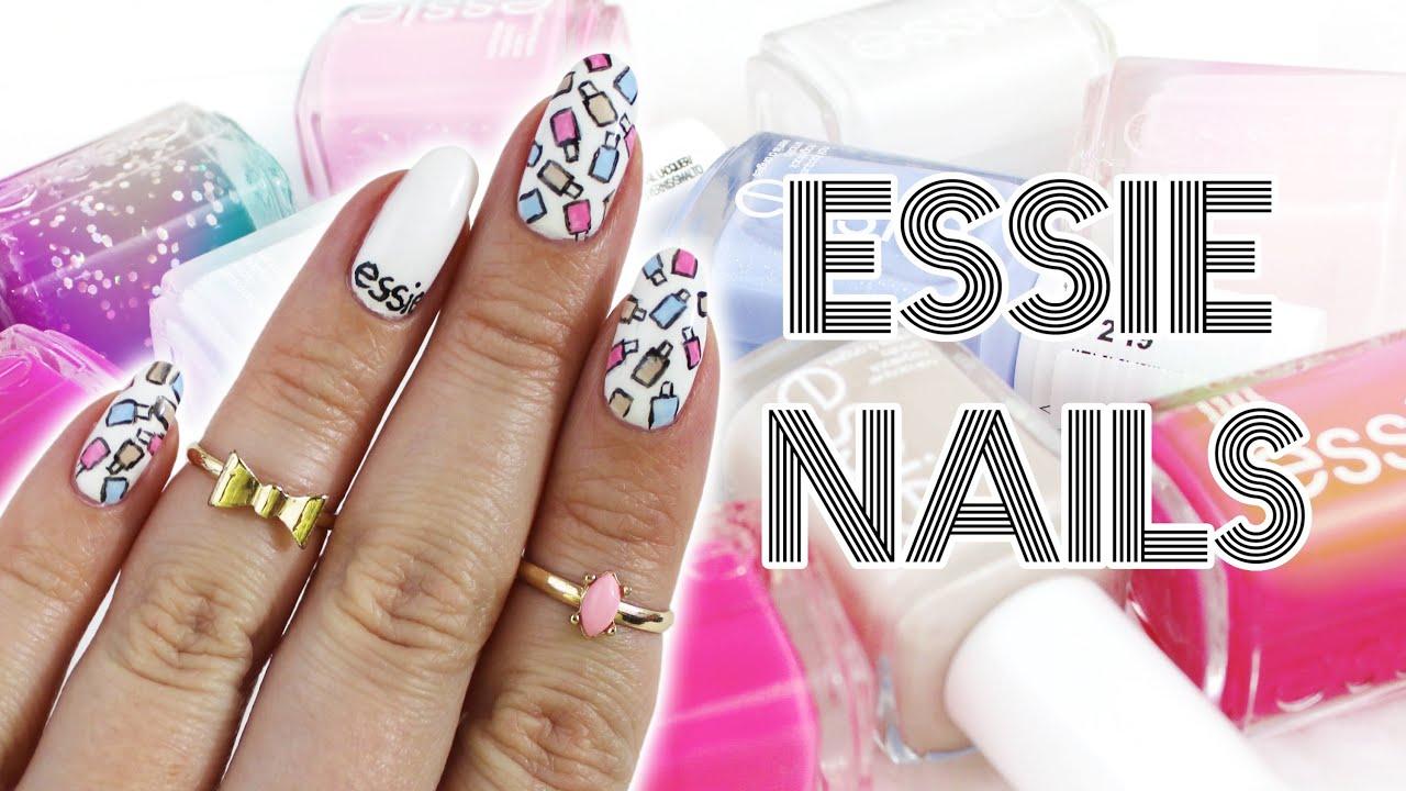 Design 5: Polish Name | Essie Inspired Nails For NNAC ♡ - YouTube