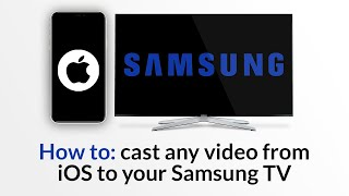 How to: Stream online videos from iOS to Samsung TV