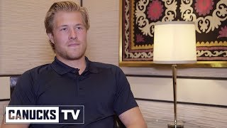 Brock Boeser Reflects on His Rookie Season