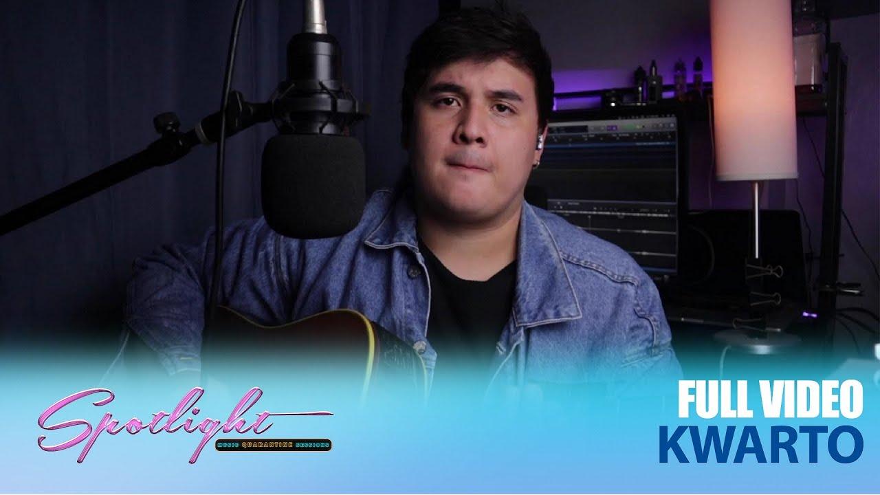 "Matt Lozano performs self-penned song ""Kwarto"""