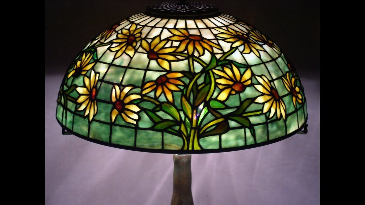 How tiffany lamps are made tiffany lamp shades youtube how tiffany lamps are made tiffany lamp shades aloadofball Images