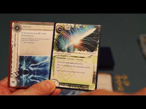 Playing The Runner Of Netrunner The Card Game