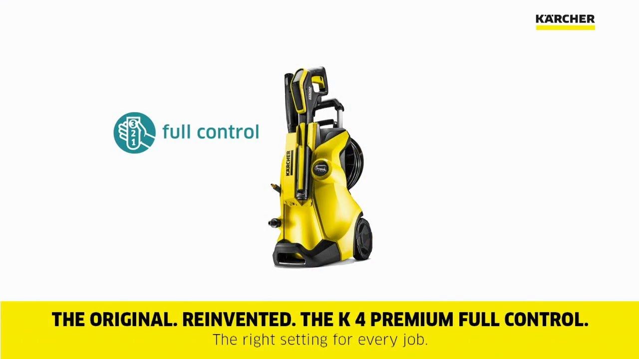 karcher k4 premium full control youtube
