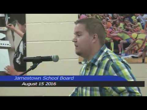 Jamestown Public Schools August 15 2016