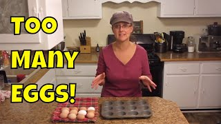 3 Easy Ways to Use Extra Eggs!