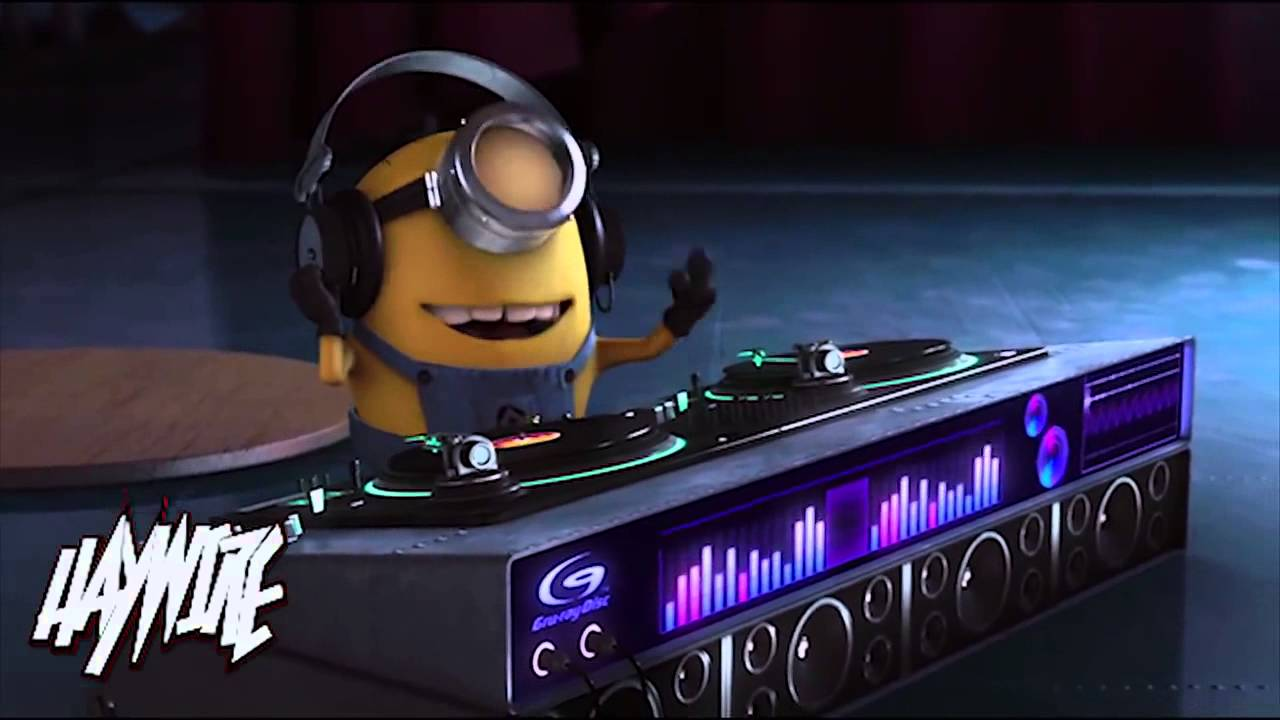 Despicable Me Agnes Cute Wallpaper Despicable Me Agnes Vs Minions Dropping The Beat Haywire